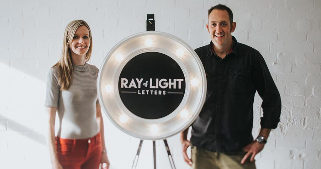 Rachel and Stephen from Ray of Light Letters